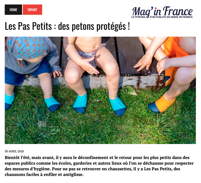 Les Pas Petits Mag In France