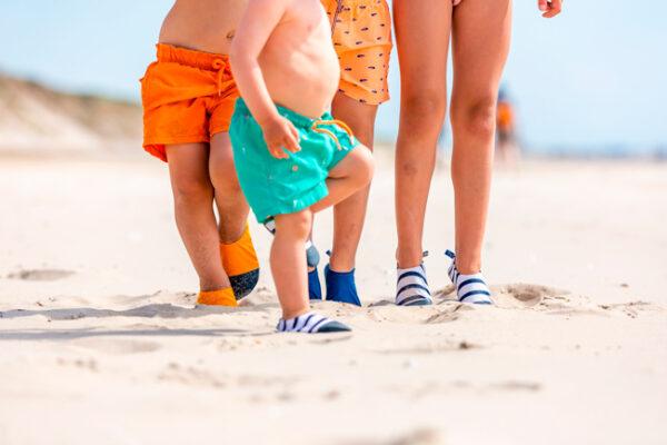 chaussons de plage
